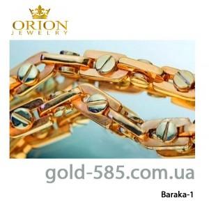 Цепь браслет колье золотая цепочка золотой браслет